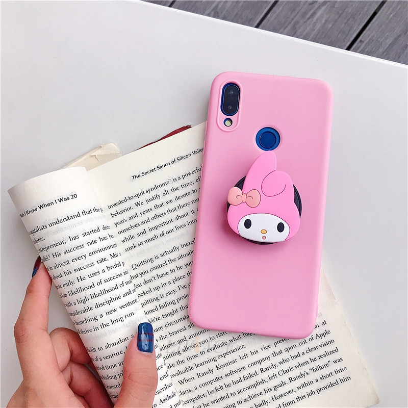 3D Cartoon Phone Holder Standing Case for Xiaomi Redmi Phone Made Of High-Quality Silicone And TPU Material 22