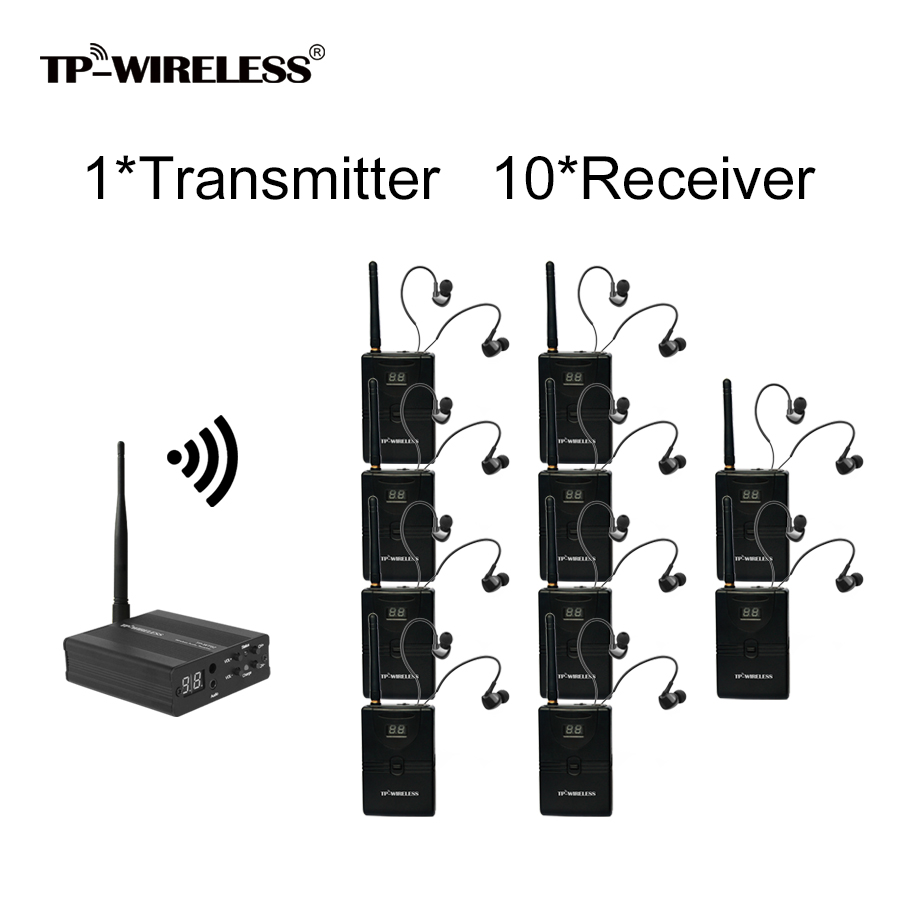 TP-Wireless 2,4 GHz Digital Wireless Stage Monitor System HDCD Audio - Audio e video portatili
