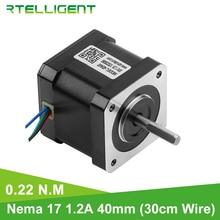 Nema Stepper-Motor Lead Rtelligent 42 for CNC Mechanic 22n-Cm 40mm 17
