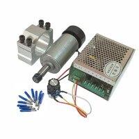 0.3KW motor de eje de cnc 300W DC 12-48 52MM pinza para DIY fresadora PCB