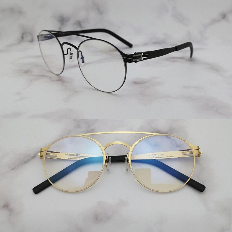 2019 New Brand Designer No Screw Glasses Frame for Men Women Optical Prescription Eyeglasses Lightweight oculos de grau