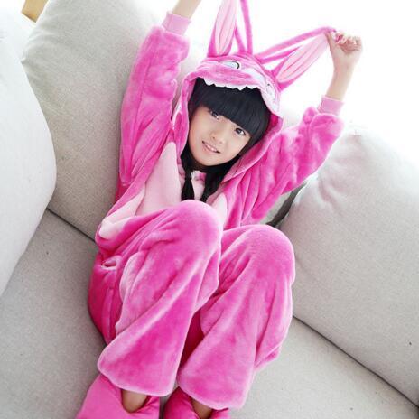 Kids kigurumi Pajamas Cosplay Cartoon Animal Onesie Sleepwear Tiger Stitch Bear Panda Unicorn Pokemon Pikachu Dinosaur Totoro