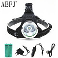 3000lm XM-L T6 LED Headlamp Rechargeable Headlight Head lamp light Flashlight Torch+18650 Battery+CAR USB AC EU/US/AU/UK Charger