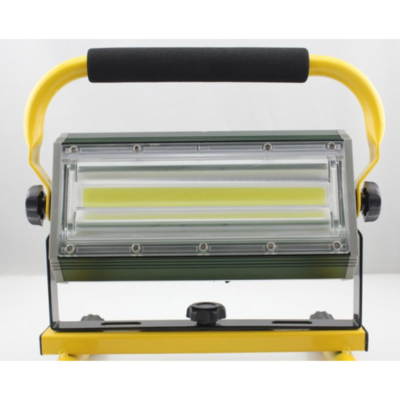 High Power 100w Led Spotlights Projection Lamp Light Searchlights Flashing Warning Waterproof Flood With Holder Professional 8 led flashing yellow light caution warning lamp with magnetic mount holder