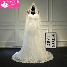 MTOB1867 Sexy Mermaid Lace Wedding Dress 2019 Bride Dresses
