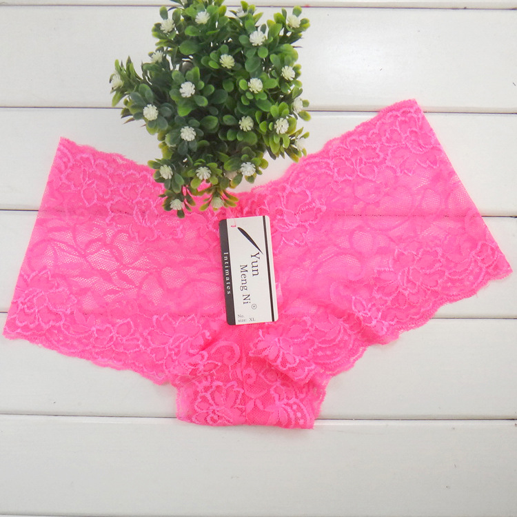 d9f8802788f Yun Meng Ni Sexy Women Underpants Plus Size XXL Boy Shorts Lace Brief  Panties Underwear Breathable Boxer Boyshorts Bragas 86831-in women's panties  from ...