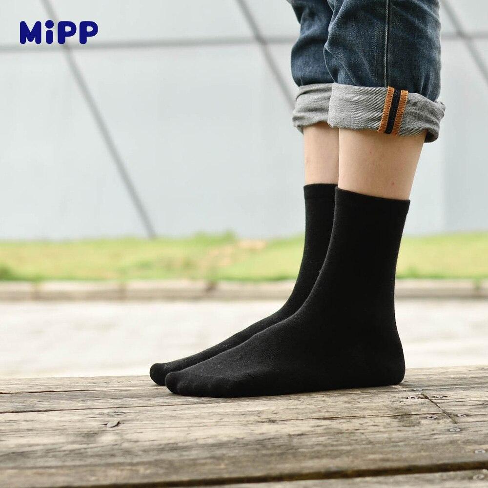 6 Paren / partij MIPP Baby Wit Kid Sokken Lente Zachte katoen - Kinderkleding - Foto 3