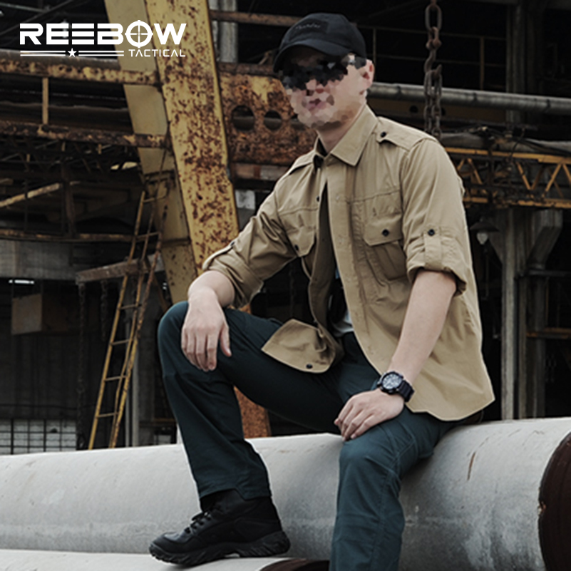 ФОТО Urban Tactical Outdoor Long Sleeve Shirts Men Summer Autumn Military Shirt with Waterproof Teflon Coating Paintball SWAT Police