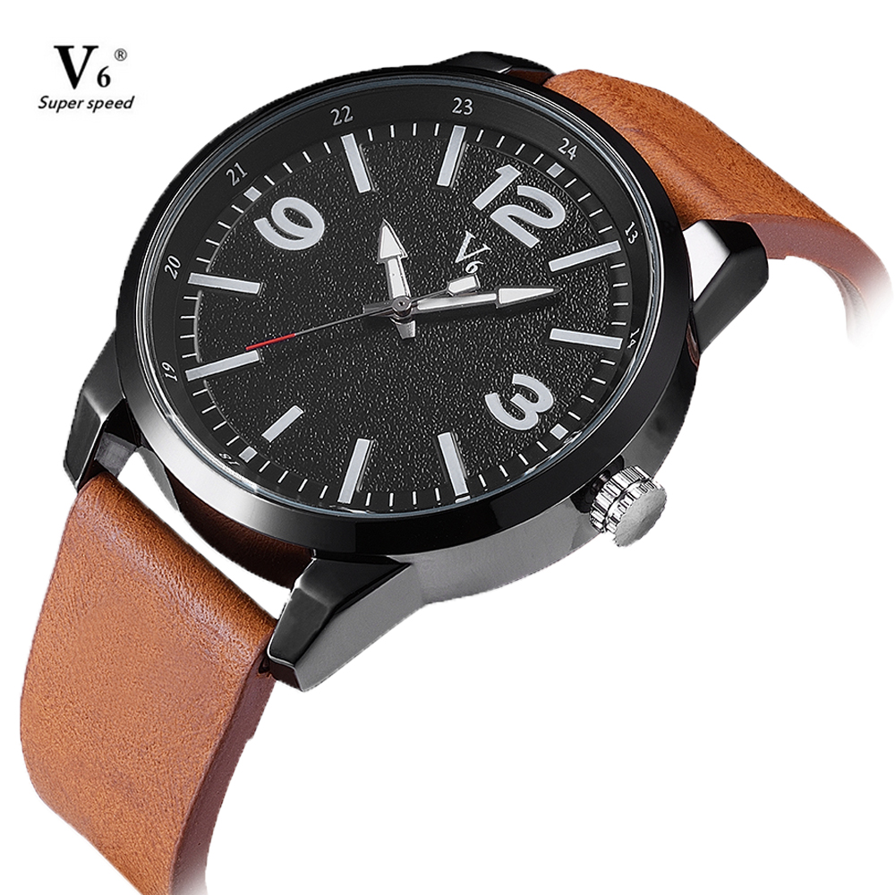 V6 Casual Men's Watch Analog Military Watches for Men Sports watch Casual waterproof Quartz Male Wristwatches reloj de hombre fashion top gift item wood watches men s analog simple bmaboo hand made wrist watch male sports quartz watch reloj de madera