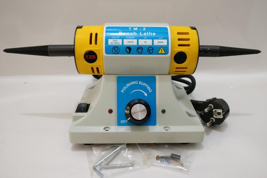 PROMOTION Foredom Polissage machine, mini polissage moteur TM-2, mini banc tour bijoux diy outils de meulage