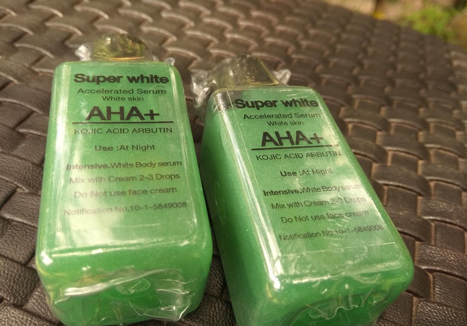 Kojic Acid AHA Arbutin Mix Lotion Cream Dark Skin Whitening Bleach Bleaching 30ml Free Ship