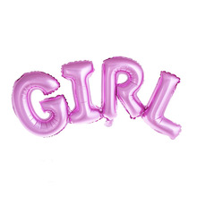 Boy / girl Letter foil balloons
