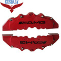 2PCS Universal Brake Caliper Cover Kit Car Sticker Size M Car Styling Decoration For AMG Mercedes Benz Fit To Wheel 17 Inches