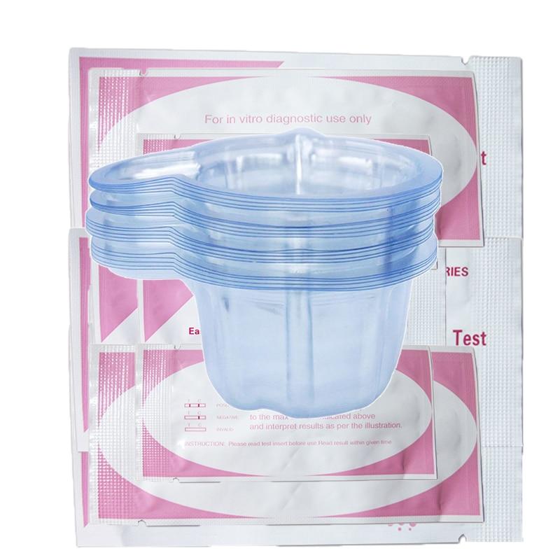 20 Schwangerschaft Test Urin Container Für Frühen Schwangerschaft Urin Midstream Test Streifen 20 Stücke HeißEr Verkauf 50-70% Rabatt FleißIg 20 Stücke Tasse Home