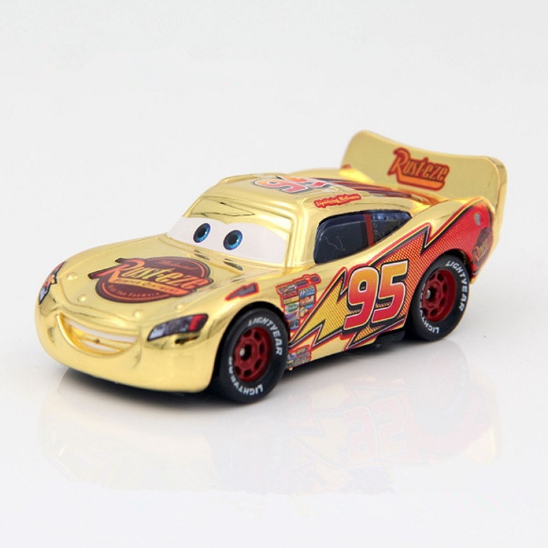 New Disney Pixar Car 3 toy car McQueen family 39 models 1:55 die-cast metal alloy model toy car 2 boys birthday Christmas gift
