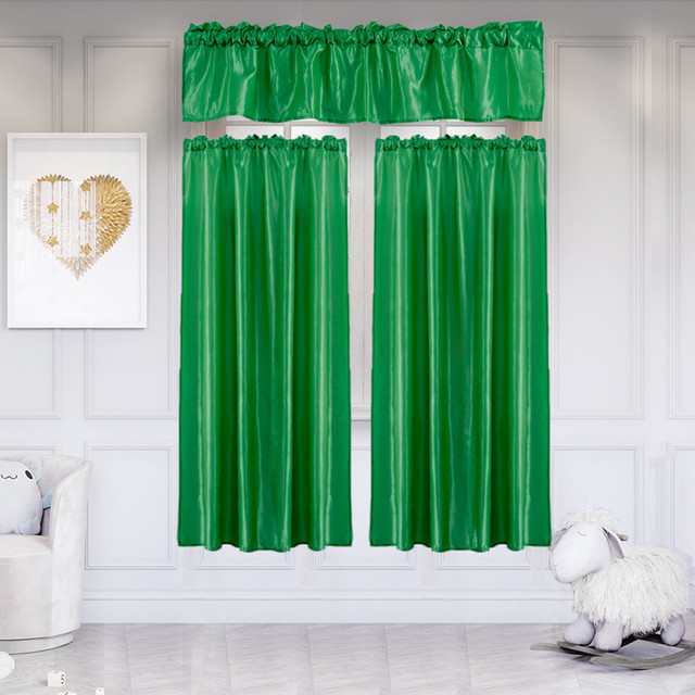 Shower Curtains Bathroom Curtain Set 3pcs Waterproof Home Curtain