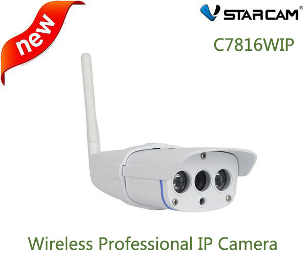 VStarcam C7816WIP IP Camera wifi Webcam CCTV Outdoor Wireless security camera Waterproof IP67 20M IR range support 64G SD Card
