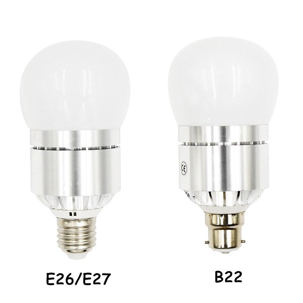 12 Watts Automatic Light Sensor Bulb, 1200 Lumen, Dawn to Dusk Light Bulbs, AC85-265V, E26/E27 B22 Lamp Base Automatic Light For