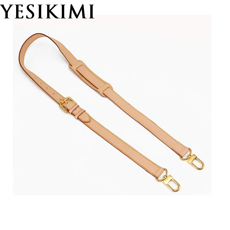 Genuine Leather Replacement Crossbody Bag Strap Luxury Bag Accessories 0.9/1.2/1.5/1.8/2.5CM Wide For Choose