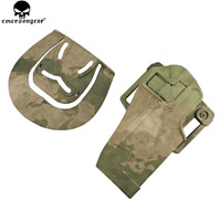 Emersongear Quickly Pistol Holster For 1911 Plastic Holster Magazine Pouch Tactical Hunting Airsoft 1911 Holster Multicam EM6096