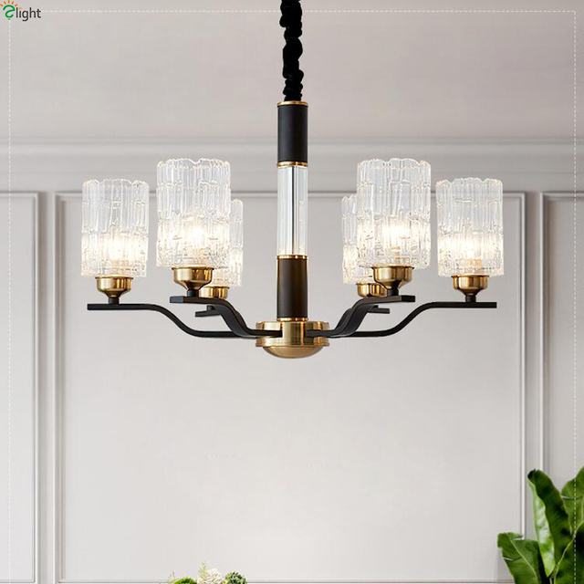 US $56.94 43% OFF|Modern Novelty Glass Led Chandeliers Lighting Living Room  Metal Led Pendant Chandelier Lights Dining Room Hanging Lamp Fixtures-in ...