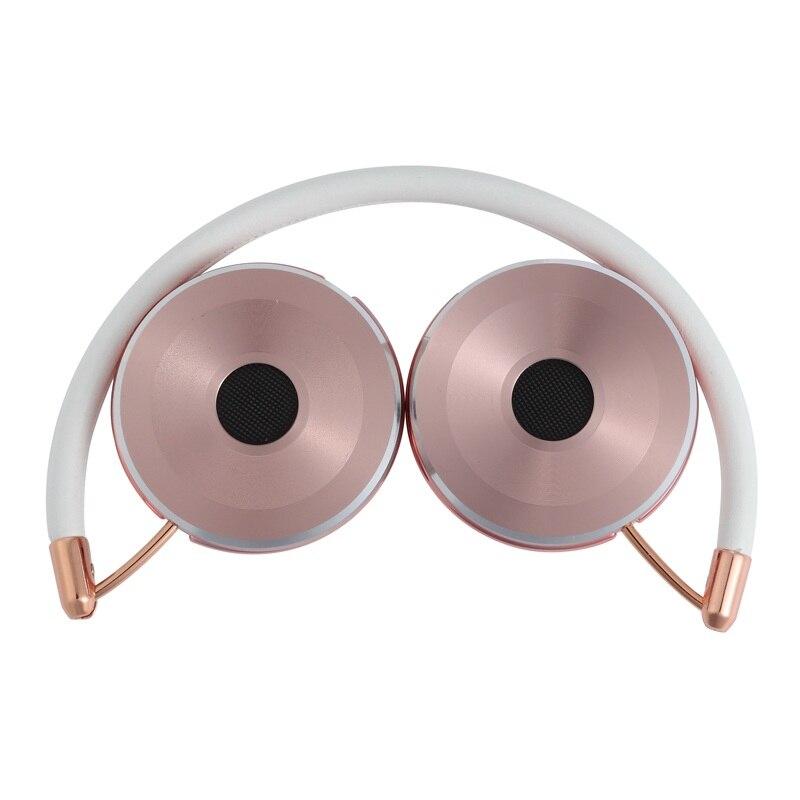 Kufje të ftohta stereo 3.5 mm me kufje Stereo me kufje Stofa lëkure - Audio dhe video portative - Foto 5