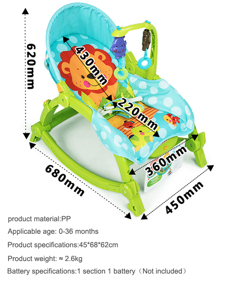 baby rocking chair Baby cradle newborn child swing  baby comfort ultifunctional baby cribs Electric rocking chair