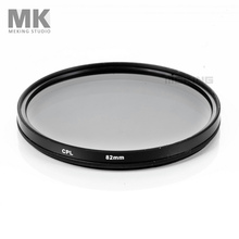 Meking 82mm CPL circular Polarizing Lens Filter for DSLR camera lens photo studio accessories