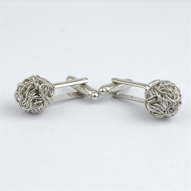 Twisted Ball Cufflinks