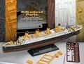 Academy 14214 peças de multi colorido 1/700 & 1/1000 escala rms titanic navio kit modelo montado modelo de brinquedo frete grátis