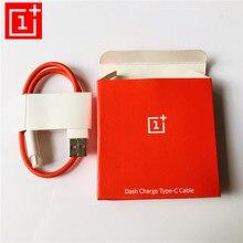 Original OnePlus 6 cable Dash 5t 5 3t 3 35cm USB 3,1 tipo C rápido cable cargador rápido para uno más tres cinco T seis