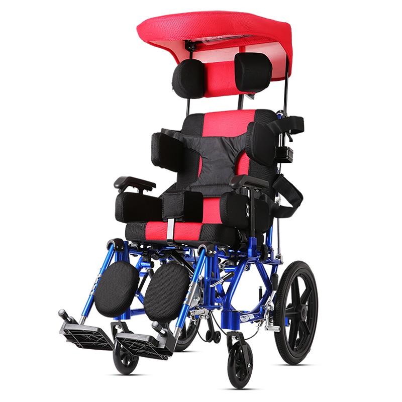 Kaiyang Foldable Portable Aluminum Alloy Elderly Children Can Lie All Over Half Of Cerebral Palsy Hemiplegic