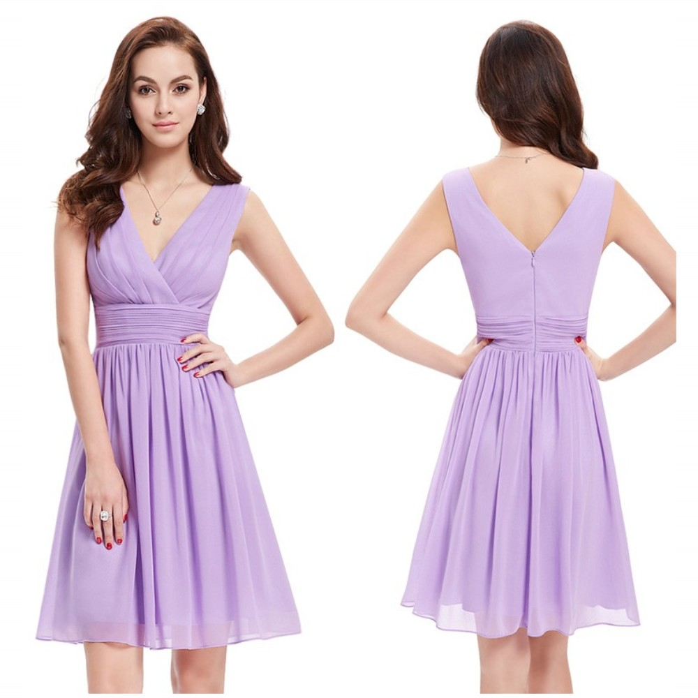 Online get cheap fast delivery bridesmaid dresses aliexpress freshness lovely v neck waist band fold mimi bridesmaid dresses reasonable price fast delivery ombrellifo Image collections