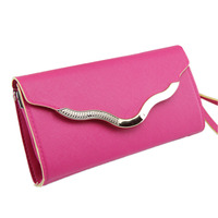 Famous Brand Clutch Shoulder Bag Pu Leather Evening Bag Chain Handbags Crossbody Bags Wedding Messenger Bags