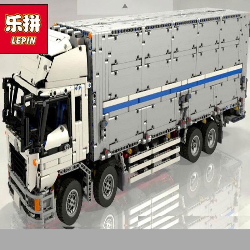 Lepin 23008 Technic série l'aile corps camion motorisé modèle blocs de construction ensemble classique voiture-style éducation LegoINGlys cadeau