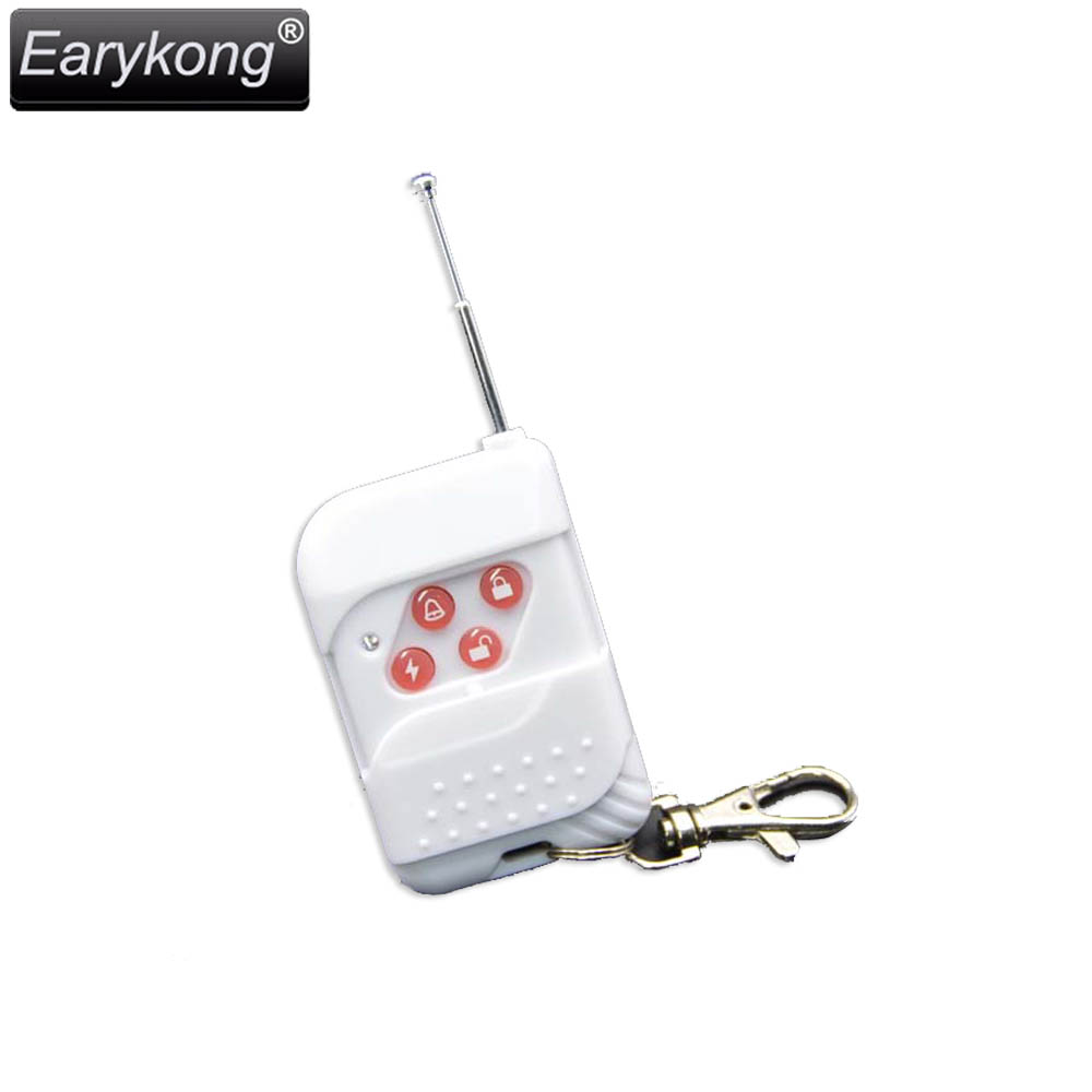 Hot Selling 433MHz Wireless White Remote Controller For Home Burglar Alarm System For Wifi GSM Alarm System цена и фото