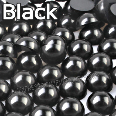 काले आधा दौर मनका मिक्स - कला, शिल्प और सिलाई