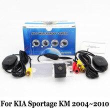 Стоянка для автомобилей Камера Для KIA Sportage 2004 ~ 2010/RCA AUX проводной Или Беспроводной Заднего вида Камеры/HD CCD Ночного Видения камера