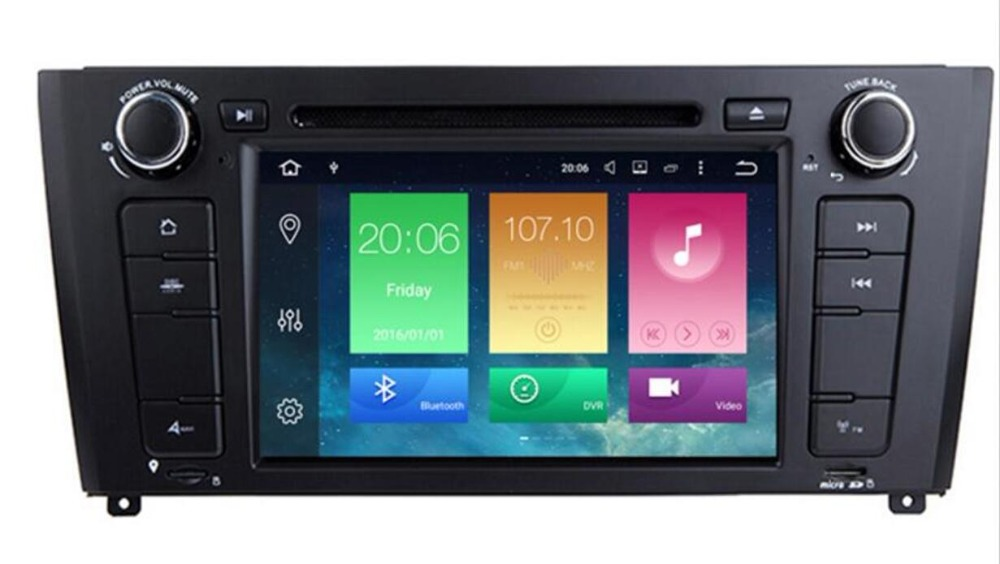 AutoRadio 2 Din <font><b>Android</b></font> <font><b>9.0</b></font> Car DVD Player For <font><b>BMW</b></font> <font><b>E87</b></font> <font><b>BMW</b></font> 1 Series E88 E82 E81 I20 GPS Navigation Audio 4G Wifi DAB+BT camera image