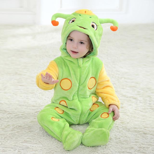 Roupa do bebê 2016 quente animal inverno primavera e outono macacão de bebê roupas de bebê da marca frete grátis