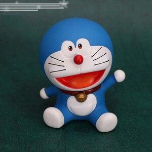 Image 2 - Аниме Doraemon Nobita торт украшение Doraemon облако Топпер для торта «С Днем Рождения» для детского шоу день рождения принадлежности
