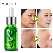 ROREC Feuchtigkeitsspendende Gesichtsserum Gesichtsessenz Whitening für Gesicht Reparatur Hautpflege Anti-falten Anti-Aging-Grüntee Samen-Extrakt