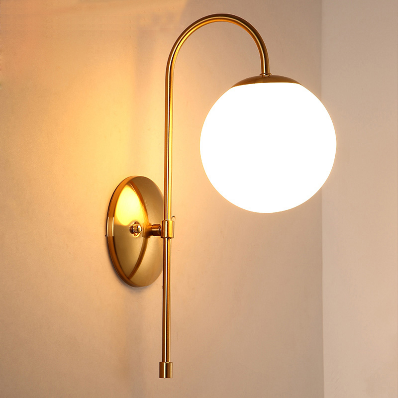 Online Buy Wholesale design wall light glass from China design