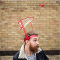 Outdoor Fun Kids Toddler Baby Children Head Basketball Hoop Game Circle Shot Plastic Basket Parent - Child Interactive Toys Hat