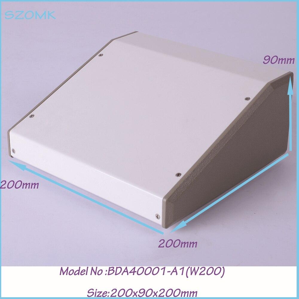 (1 )200x90x200 mm die cast iron box amplifier enclosure steel white extrusion diy industrial metal box enclosures diy loving heart box stencil carbon steel cutting die