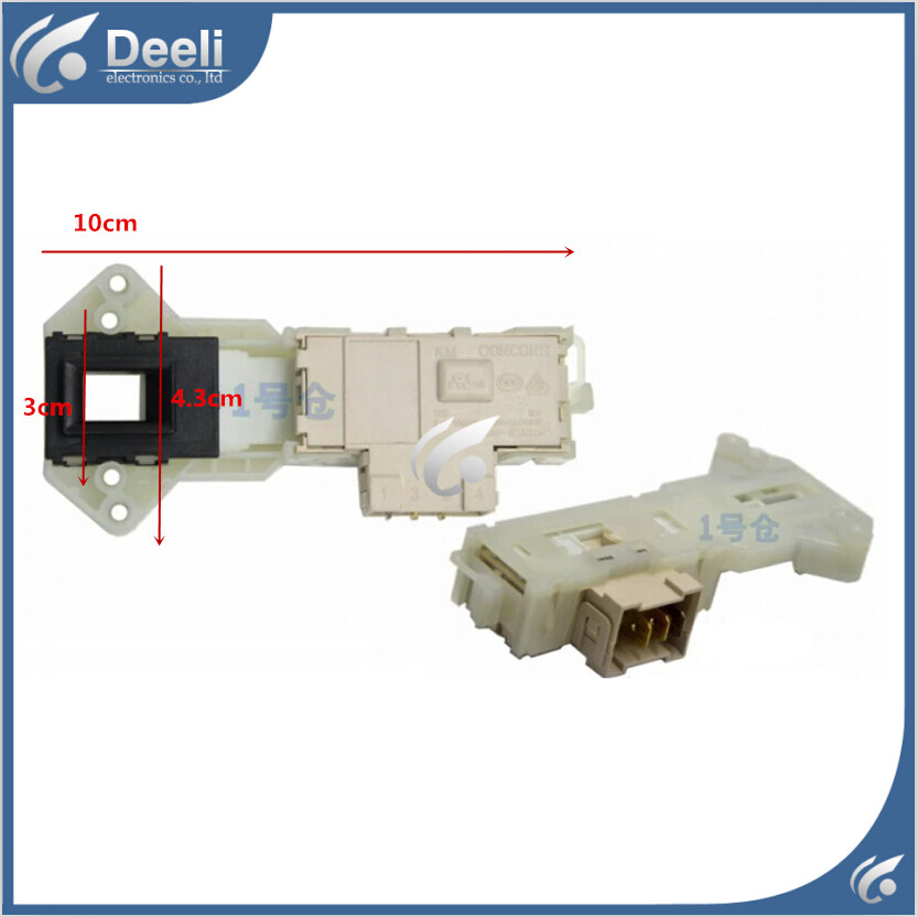 100% NEW for for for washing machine electronic door lock delay switch WD-N10230D WD-N12 ...