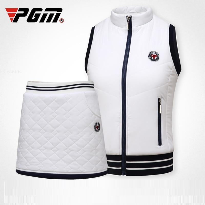 2020 Pgm Golf Skirt Women Soft Short Shirt Ladies Warm Fleece Elastic Sportswear Tennis Mini Skirt Suits D0492