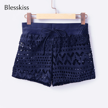 Lace Crochet Beach Swim Shorts 4