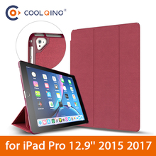 For iPad Pro 9.7 Smart Case 100% Original New Brand Ultra-thin Flip PU Leather With Sleep/Wake up 2016 Newest