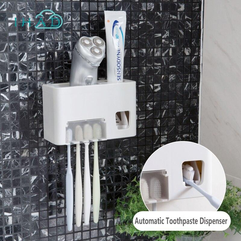 Automatische Zahnpasta Spender Mit Zahnburste Halter Zahnpasta